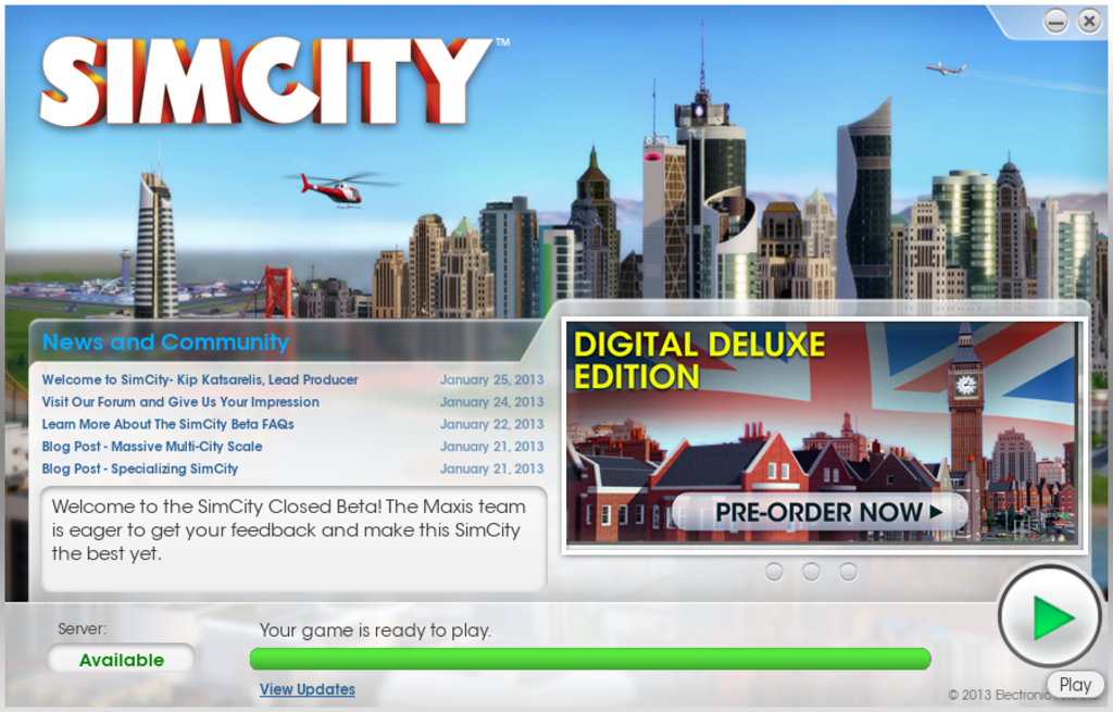 SimCity 2013-GeekLette01