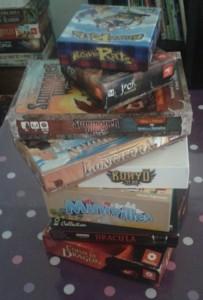 Pile de jeux