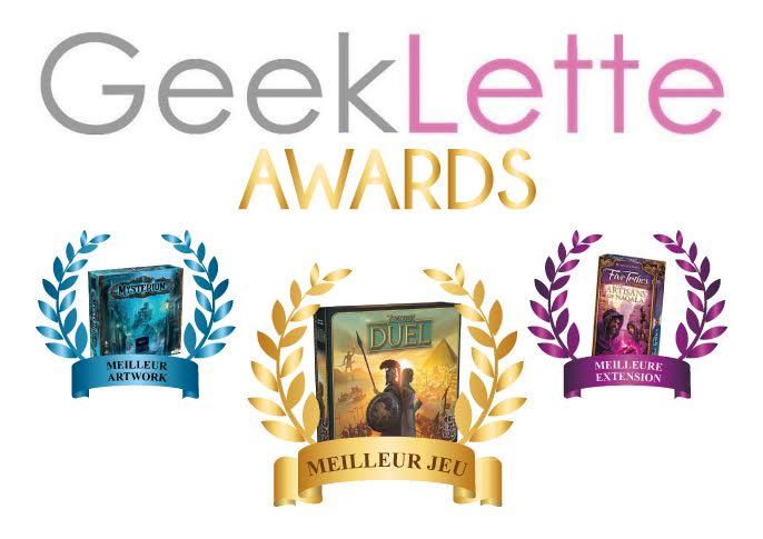 geeklette awards board games