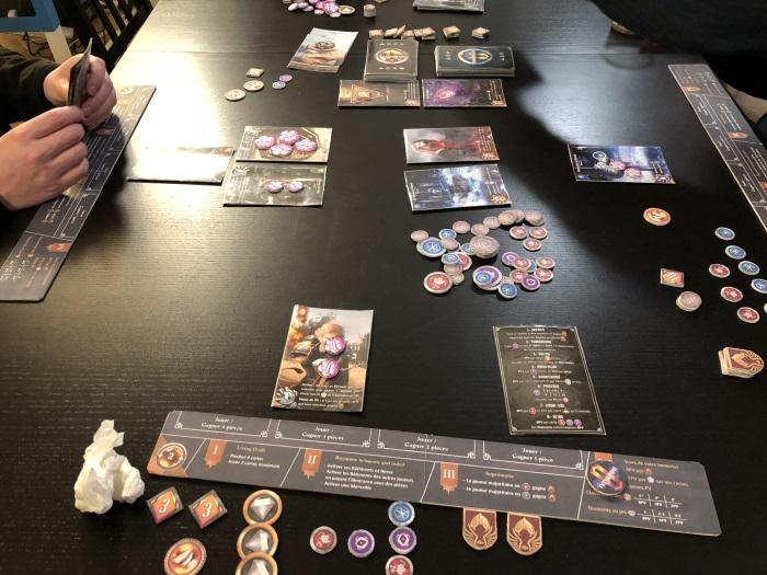 Immortal 8 board game 02